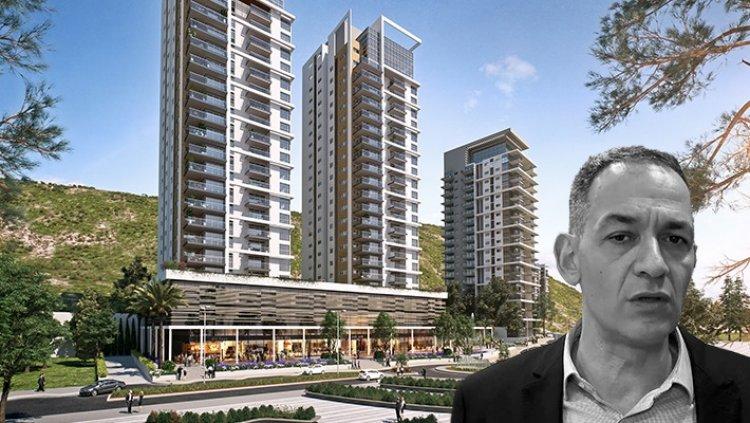 """מנכ""""ל אזורים, רון אבידן, על רקע הדמיית הפרויקט במתחם שלמה המלך (מרכז הנדל""""ן; 3Dvision)"""
