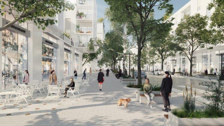 הדמיית התוכנית החדשה בעראבה (Rational Architects)
